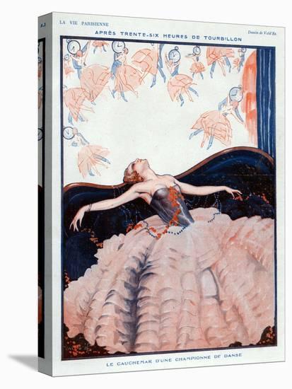 La Vie Parisienne, Vald'es, 1923, France-null-Premier Image Canvas