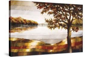 Lake Mamry-Zenon Burdy-Stretched Canvas