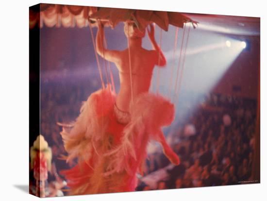 Latin Quarter Nightclub Show-Gordon Parks-Stretched Canvas Print