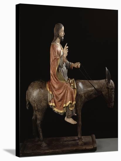 Le Christ des Rameaux--Stretched Canvas Print