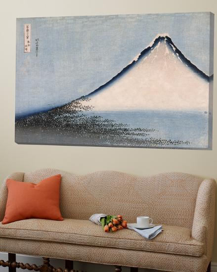 Le Fuji bleu-Katsushika Hokusai-Loft Art