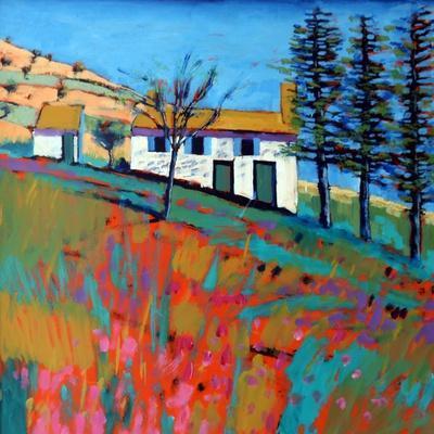 Le Marche-Paul Powis-Stretched Canvas Print