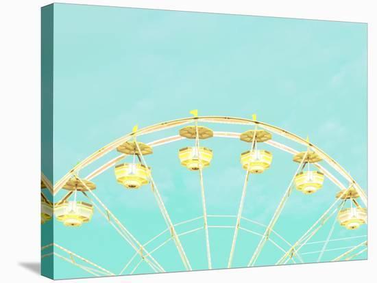 Lemon Drop Wheel--Stretched Canvas Print