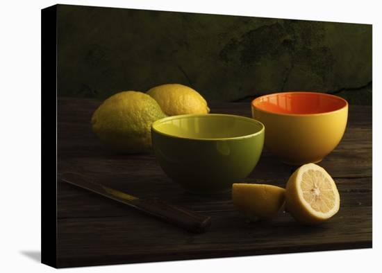 Lemons-Luiz Laercio-Stretched Canvas Print