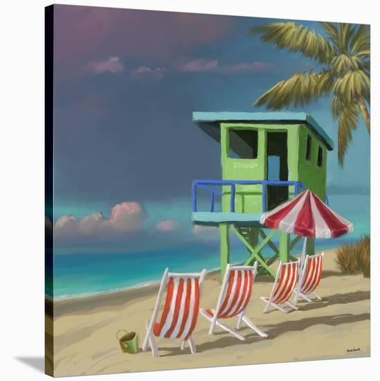 Life Tower 02-Rick Novak-Stretched Canvas Print