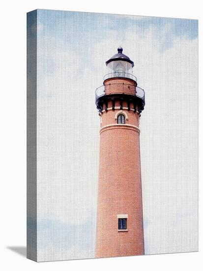 Light House Coral-LILA X LOLA-Stretched Canvas Print