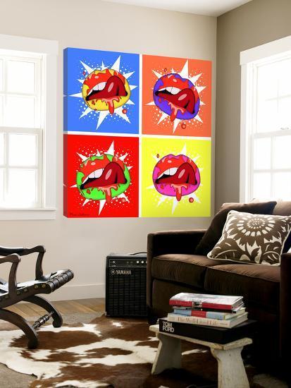 Lips 3-Mark Ashkenazi-Loft Art