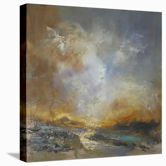 Liquid Gold-Anne Farrall Doyle-Stretched Canvas Print