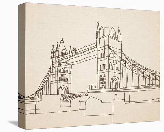 London Bridge-Irena Orlov-Stretched Canvas Print