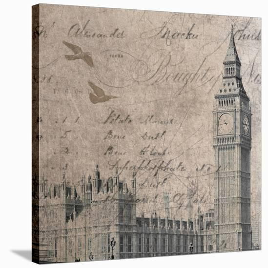 London-Irena Orlov-Stretched Canvas Print