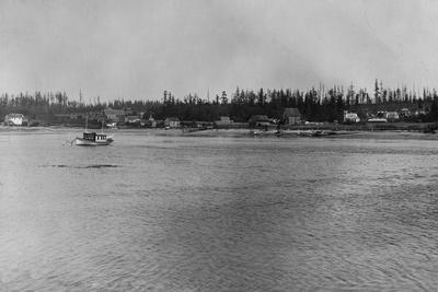 Lopez Island, WA - San Juan Islands View Photograph-Lantern Press-Stretched Canvas Print
