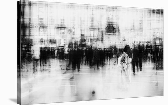 Lost Among Ghosts-Inna Blar-Stretched Canvas Print