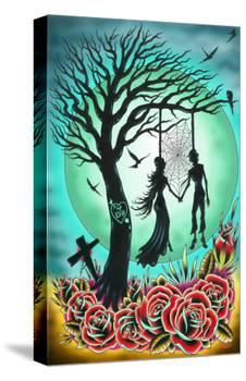 Love til Death-Tyler Bredeweg-Stretched Canvas