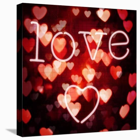 Love-Kate Carrigan-Stretched Canvas Print