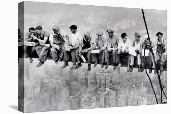 Lunch Atop a Skyscraper--Stretched Canvas Print
