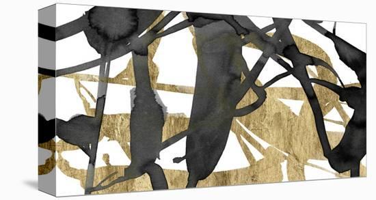 Luxe Gold III-Jennifer Goldberger-Stretched Canvas Print