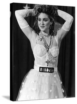 Madonna at 1st Annual MTV Video Music Awards, at Tavern on the Green-David Mcgough-Premier Image Canvas