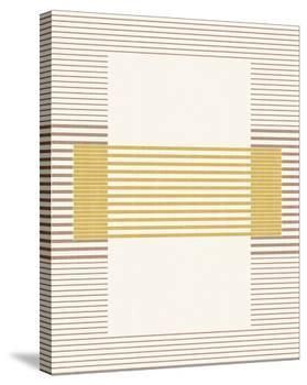 Magdeburg - Golden-Maja Gunnarsdottir-Stretched Canvas