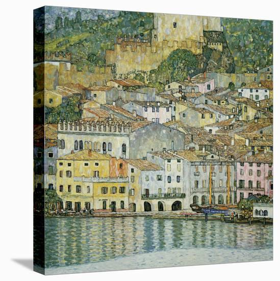 Malcesine, Lake Garda, 1913-Gustav Klimt-Stretched Canvas Print