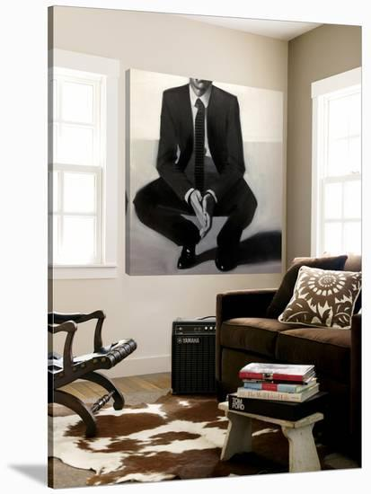 Man in Black-Anna Kincaide-Loft Art