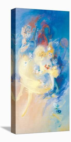 Maquette d'Affiche-Jules Ch?ret-Stretched Canvas Print