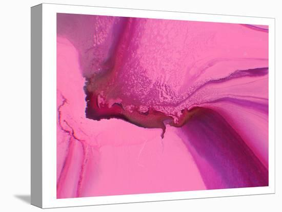Marbled Pink-Deb McNaughton-Stretched Canvas Print