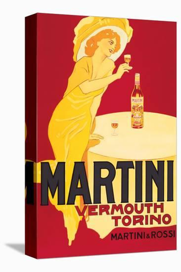Martini and Rossi, Vermouth Torino--Stretched Canvas Print