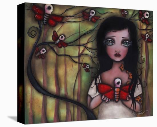 Matilda-Abril Andrade-Stretched Canvas Print