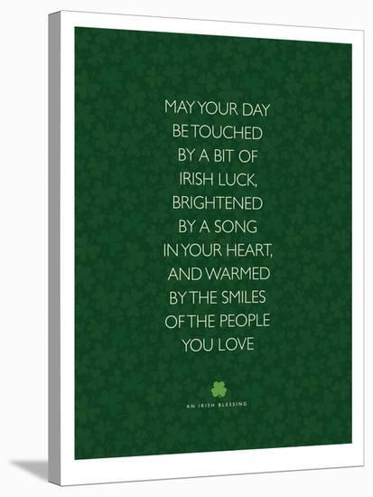 May Your Day Be Touched-Brett Wilson-Stretched Canvas Print