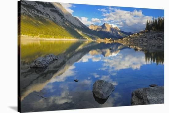 Medicine Lake-Mike Grandmaison-Stretched Canvas Print