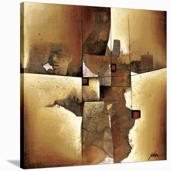 Melted Patterns-Yehan Wang-Stretched Canvas Print