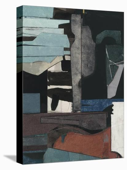 Mid-Century Collage III-Rob Delamater-Stretched Canvas Print