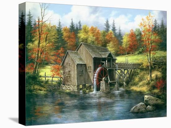 Mill At Black Rock-Rudi Reichhardt-Stretched Canvas Print