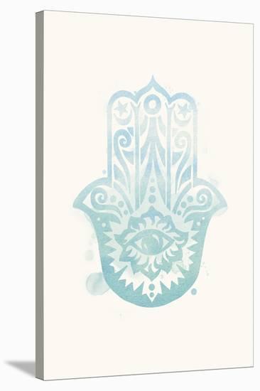 Mindfulness - Hamsa--Stretched Canvas Print