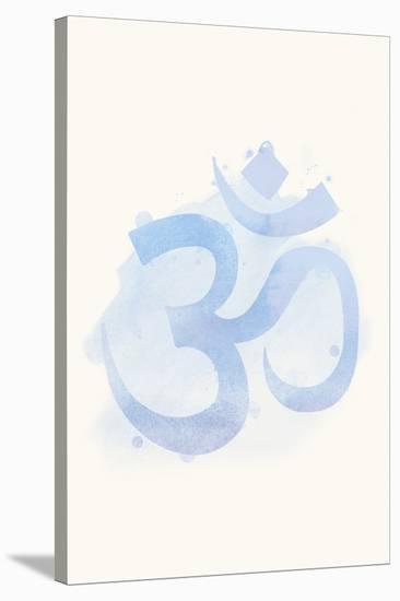 Mindfulness - Ohm--Stretched Canvas Print