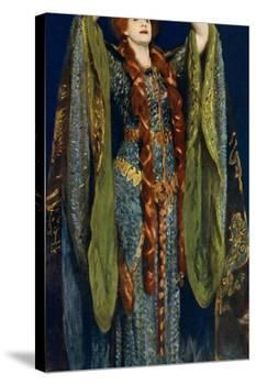 Miss Ellen Terry as Lady Macbeth, 1906-John Singer Sargent-Premier Image Canvas