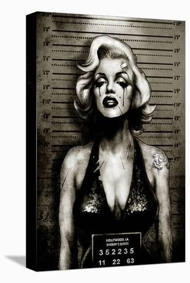 Monroe--Stretched Canvas Print