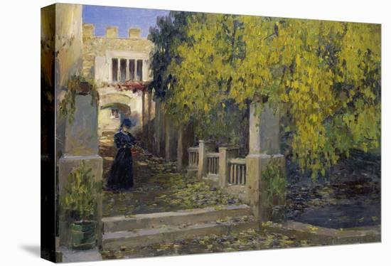 Moralt in Autumn-Alexander Koester-Stretched Canvas Print