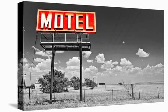 Motel 66--Stretched Canvas Print