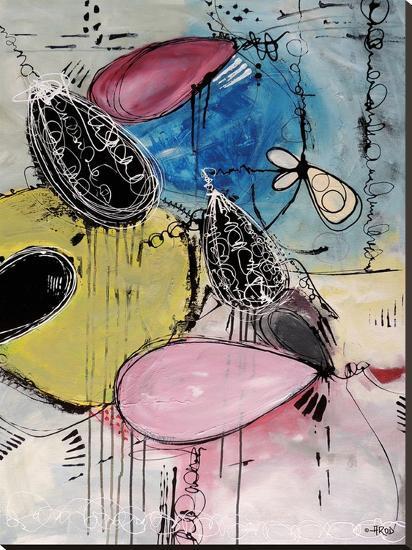 Motus Du Bubble Gomme-Annie Rodrigue-Stretched Canvas Print