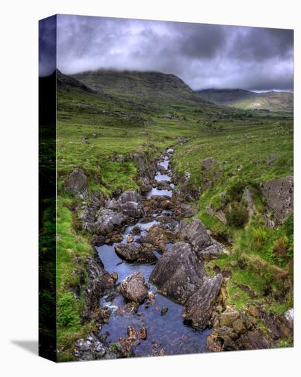 Mountain Creek, Ireland-Richard Desmarais-Stretched Canvas Print