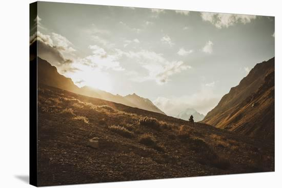 Mountain Pass-Andrew Geiger-Stretched Canvas Print