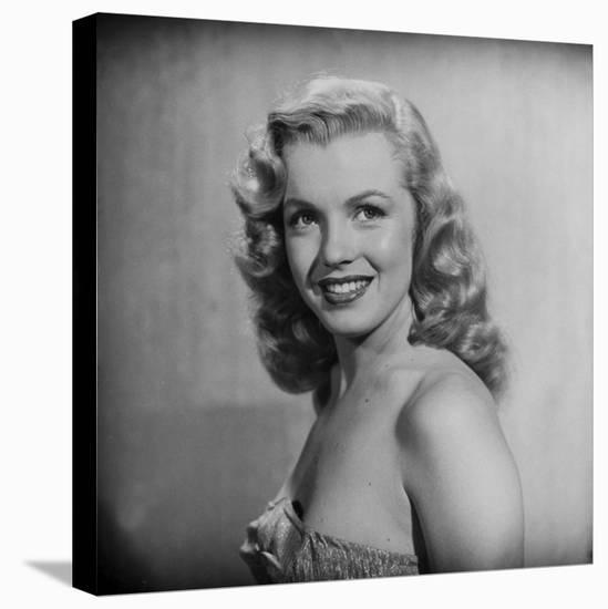 Movie Starlet Marilyn Monroe Posing in Studio-J. R. Eyerman-Premier Image Canvas