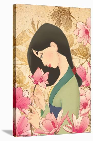 MULAN - FLOWER--Stretched Canvas Print