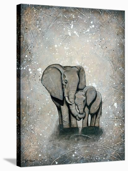 My Love for You POD 12x16-Britt Hallowell-Stretched Canvas Print