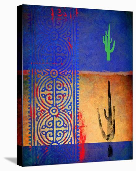 Native Desert I-Parker Greenfield-Stretched Canvas Print