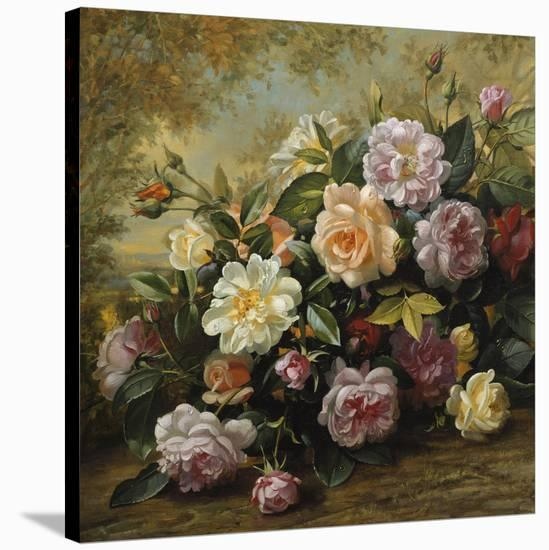 Nature's Glory II (detail)-Albert Williams-Stretched Canvas Print