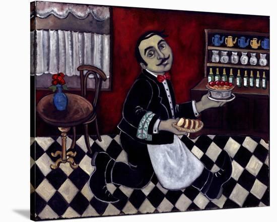 Ne Pas Oublier Le Desserts--Stretched Canvas Print