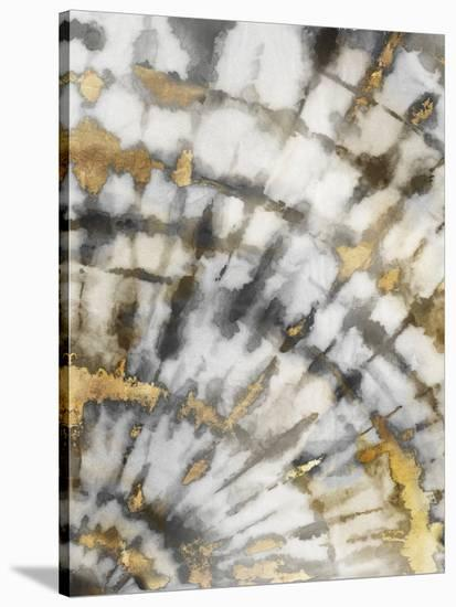 Neutral Tie Dye I Neutral Version-PI Creative Art-Stretched Canvas Print