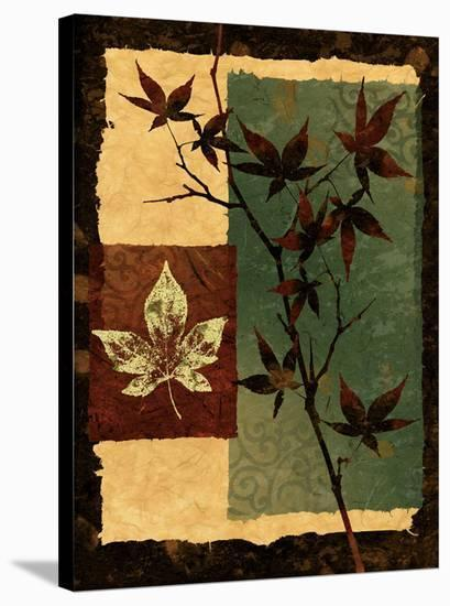 New Leaf II-Keith Mallett-Stretched Canvas Print
